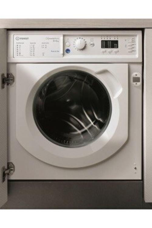 Lave-linge séchant - Indesit BIWDIL861484EU (Blanc)