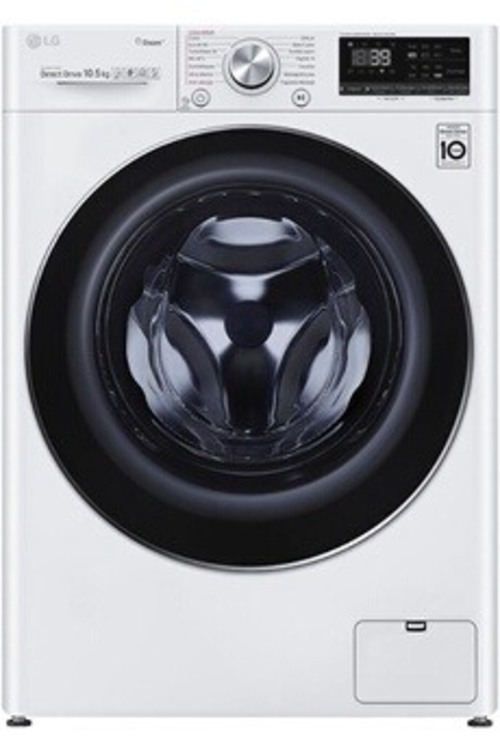 Lave-linge hublot - LG F14V71WHST (Blanc)