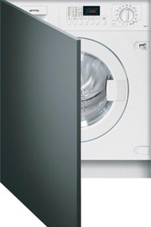 Lave-linge séchant - SMEG LSTA147 (Blanc)