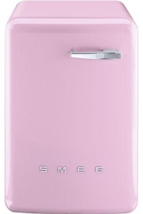 Lave-linge hublot - SMEG LBB14PK2 (Rose)