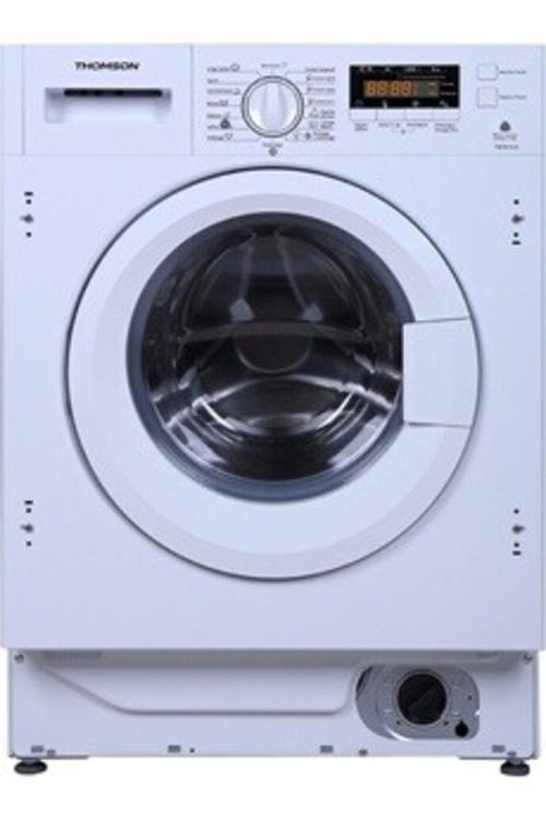 Lave-linge hublot - Thomson TWBI612 (Blanc)