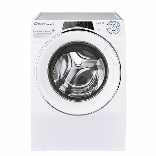 Lave-linge séchant - Candy ROW41494DWMCES (Blanc)