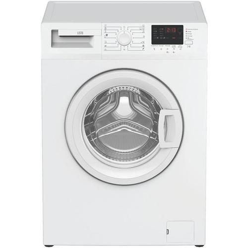 Lave-linge hublot - Listo LF 612-l1b (Blanc)