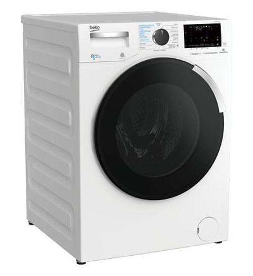 Lave-linge séchant - Beko WTLD81468P (Blanc)