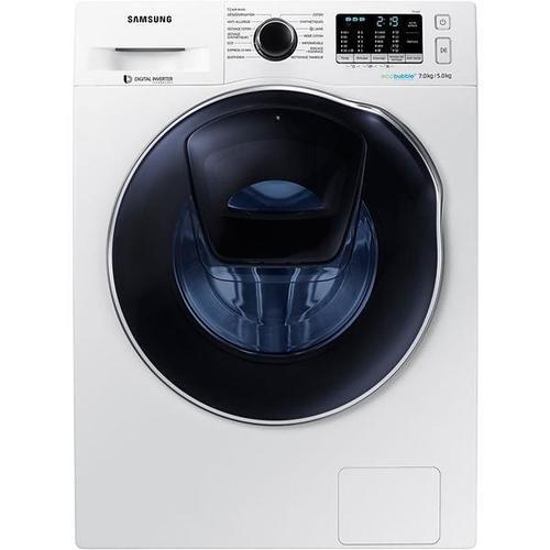 Lave-linge séchant - Samsung WD70K5B10OW (Blanc)