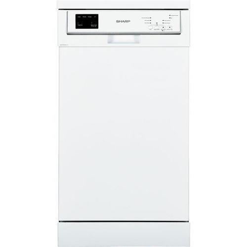 Lave-vaisselle pose libre - Sharp QW-HS25F443W (Blanc)