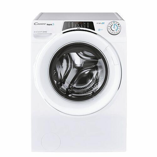 Lave-linge hublot - Candy RO14146DWMCE/1-S (Blanc)