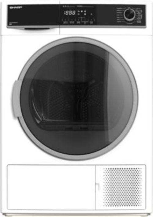 Sèche-linge à condensation - Sèche linge pompe à chaleur Sharp KD-HHH9S8GW3