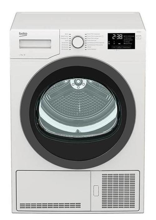 Sèche-linge à condensation - Beko DBED9GWS (Blanc)