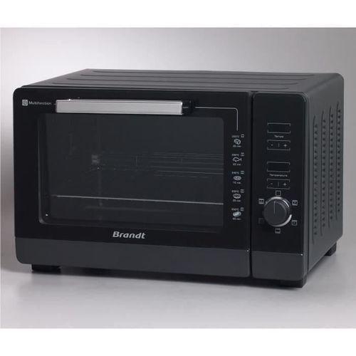 Mini-four électrique - BRANDT FC405MHB multifonction - 40L - 2100W - Noir - Pose libre