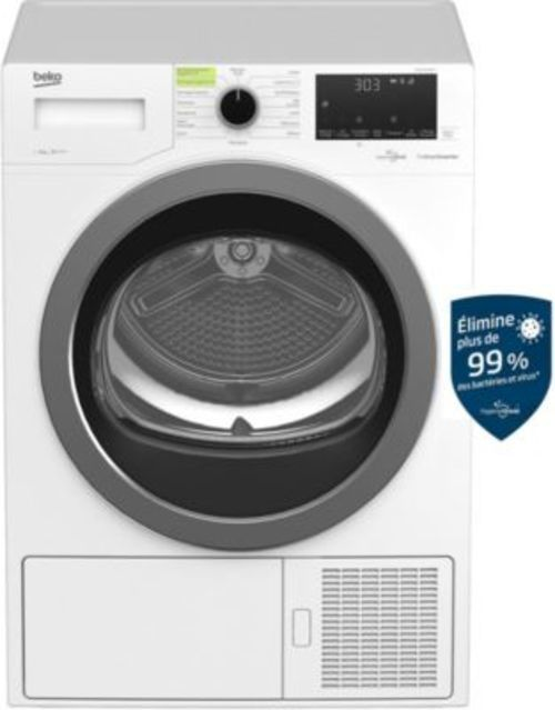 Sèche-linge pompe à chaleur - Beko DS9210GA0WHT