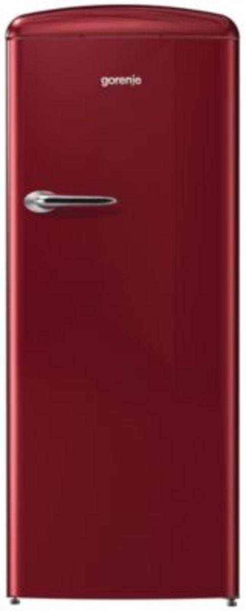 Réfrigérateur 1 porte - Gorenje ORB153R ROUGE BORDEAUX