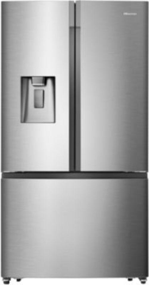 Réfrigérateur américain - Hisense RF750N4ISF (Inox)