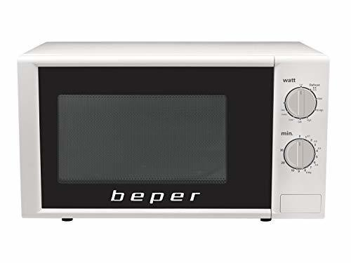 Micro-ondes + Gril - Beper Four 20 litres avec grill blanc
